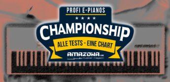 Championship: Die besten Profi E-Pianos und Digitalpianos