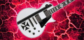 Test: ESP Iron Cross SW, E-Gitarre
