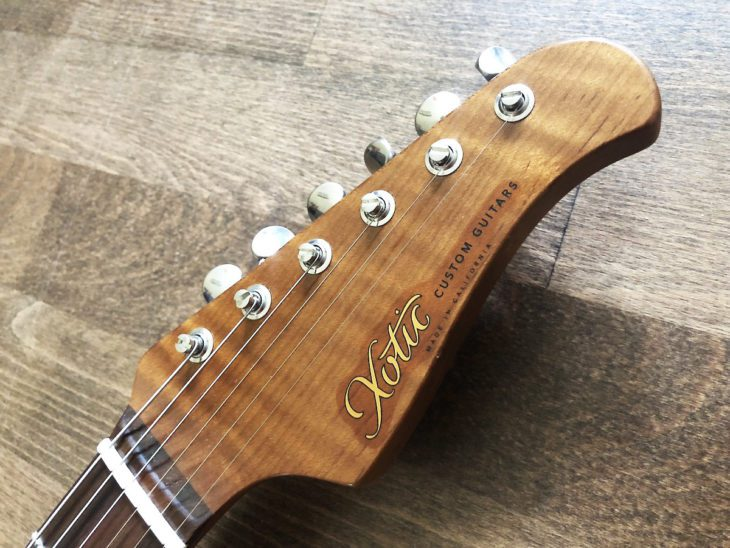 Xotic Guitars XSC-1 Headstock