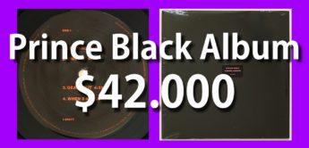 Prince Black Album für 42.000$