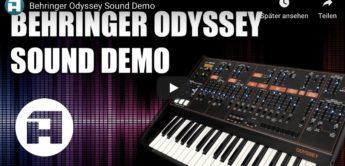 Behringer Odyssey on YouTube
