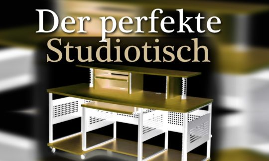 Die besten Studiotische für Home- und Profi-Tonstudios