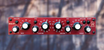 Test: Golden Age Project EQ-81 MkII, Equalizer