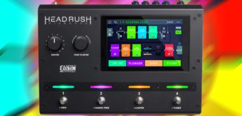 Test: Headrush Gigboard, Gitarren Multieffekt Pedal