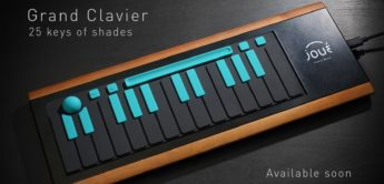 Top News: Joué Board Grand Clavier, MIDI-Controller