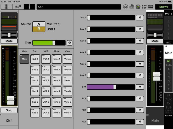 Mackie-DL16S-Stagebox-Mischpult-Input