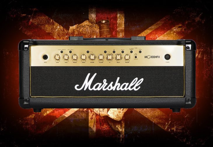 Marshall MG100HFX Gold