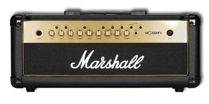 Marshall MG100HFX front