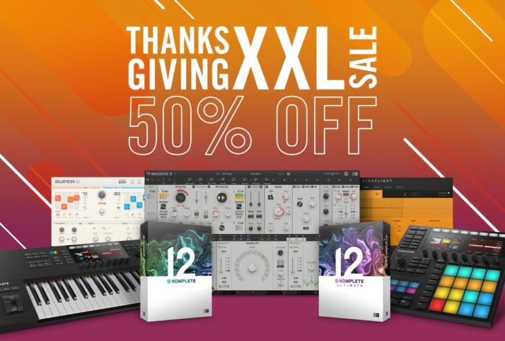 native instruments black friday thanksgiving sale