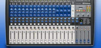 Test: Presonus StudioLive AR22 USB, Analogmixer