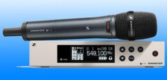 Test: Sennheiser ew 100 G4 835 S, Funkstrecke