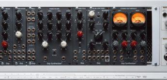 Test: GRP Eurorack, VCO, VCA, LFO, Stereo Out …