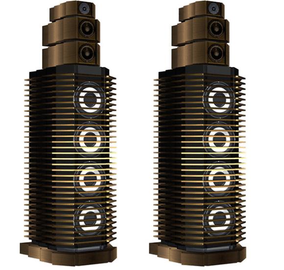 Lautsprecher im SciFi-Design