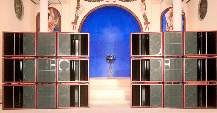 Für diese Lautsprecher braucht man ein sehr großes Studio