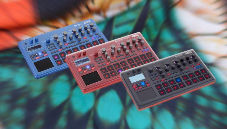 Vergleichstest: Korg Electribe 2, 2S, Blue & Sampler Red