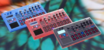 Vergleichstest: Korg Electribe 2, 2S, Blue & Sampler Red