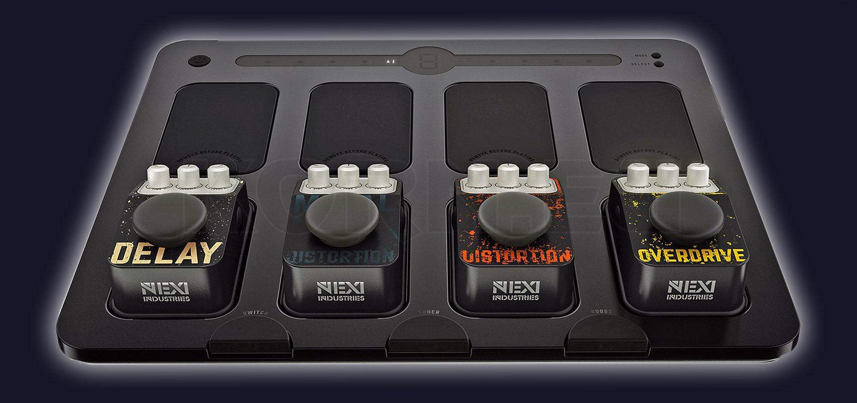 Test Nexi Industries Blues Ultra Starter Pedalboard