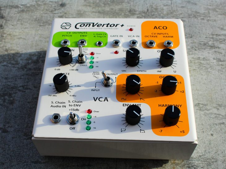 Sonicsmith-ConVertor+ Audio Controlled Synthesizer