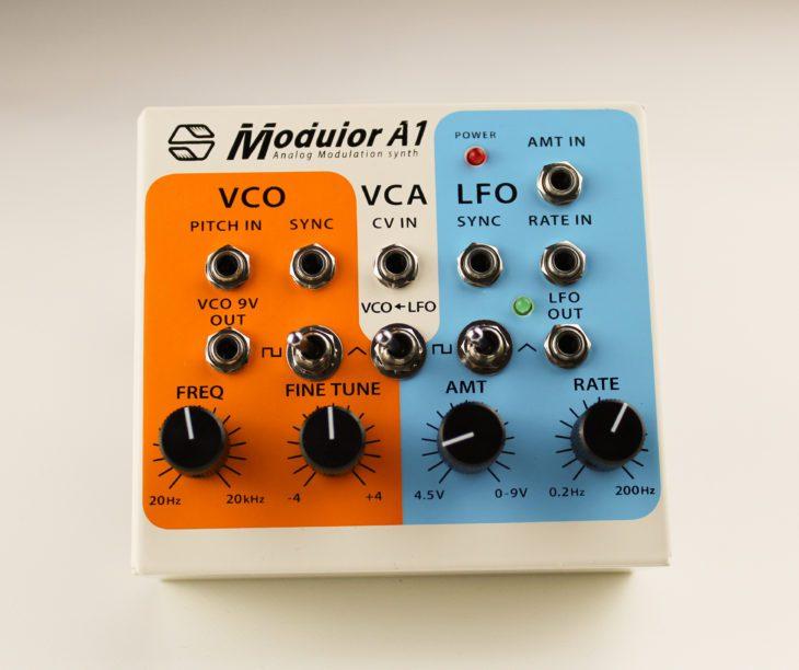 Sonicsmith-Modulor A1 Analog Modulation synth