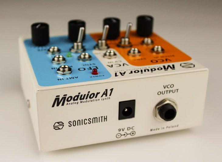 Sonicsmith-Modulor A1 Rückseite