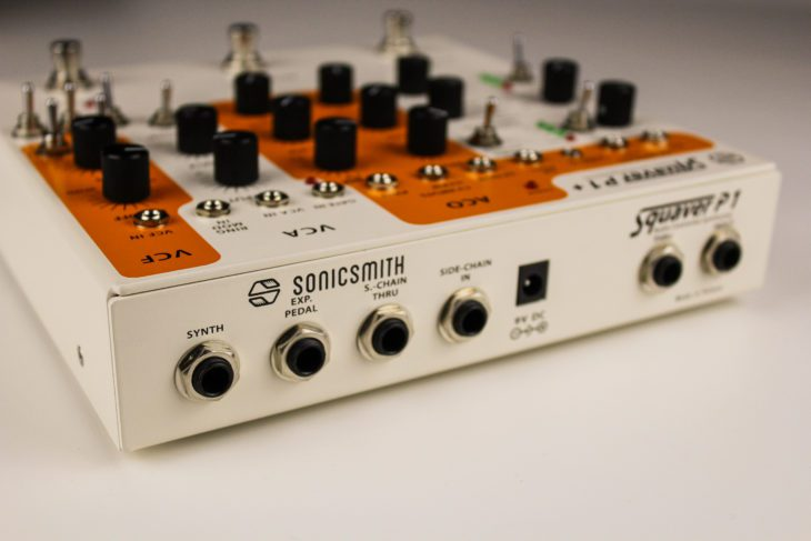 Sonicsmith Squaver P1+ Rückansicht