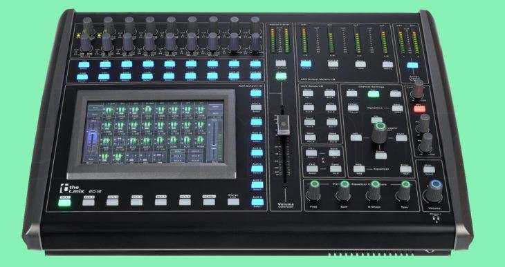 the t.mix 20.12 Digitalmixer