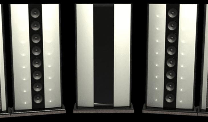 Diese Lautsprecher sehen eher nach Wänden aus