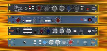 Vergleichstest: Heritage Audio HA-73 EQ ELITE, Warm Audio WA73-EQ, BAE Audio 1073 und AMS Neve 1073DPA, Vorverstärker