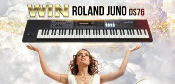 Gewinnspiel: ROLAND JUNO-DS76 Tasten-Synthesizer