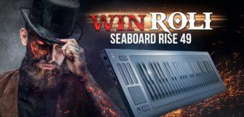 Gewinnspiel: ROLI Seaboard Rise 49 Keyboard