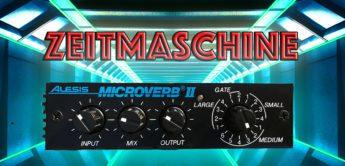 Zeitmaschine: Alesis Microverb I und II, Hallgerät