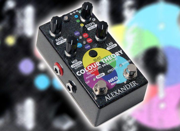Test: Alexander Pedals Colour Theory, Gitarren Sequencer Pedal