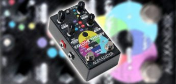 Test: Alexander Pedals Colour Theory, Gitarren Sequencer Pedal