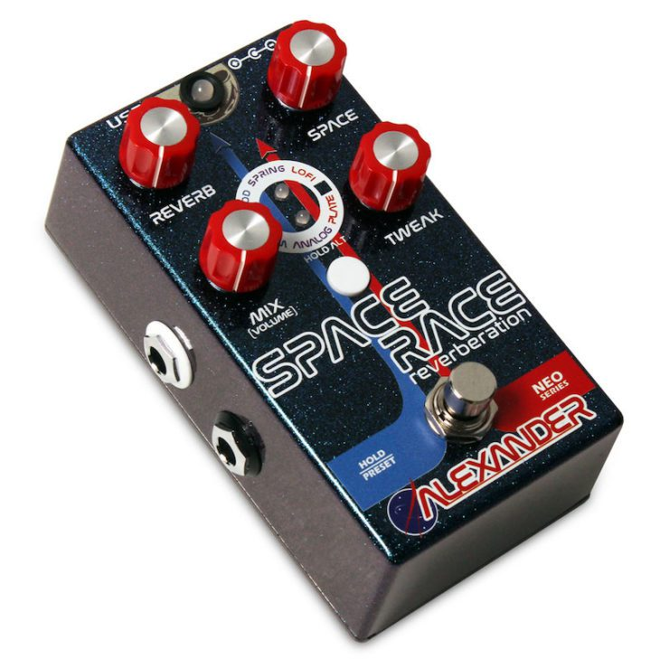 Alexander Pedals Space Race Angle