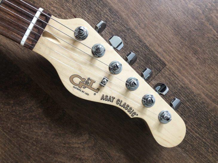 G&L Asat Classic Bluesboy Headstock