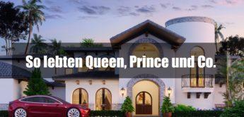 So lebten Queen, Prince und Co. – Die Häuser der Superstars