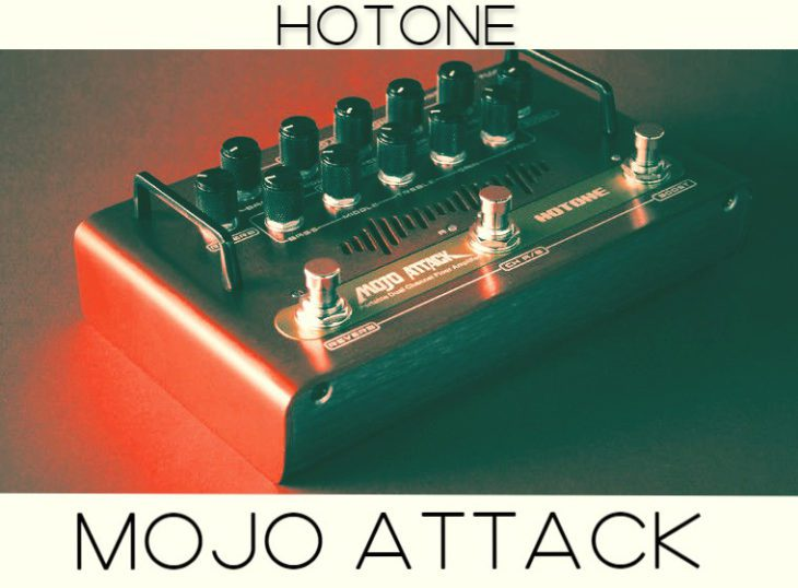 Hotone Mojo Attack, Gitarrenpreamp Pedal