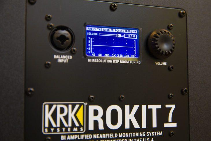 Rückseite des KRK RP7G4