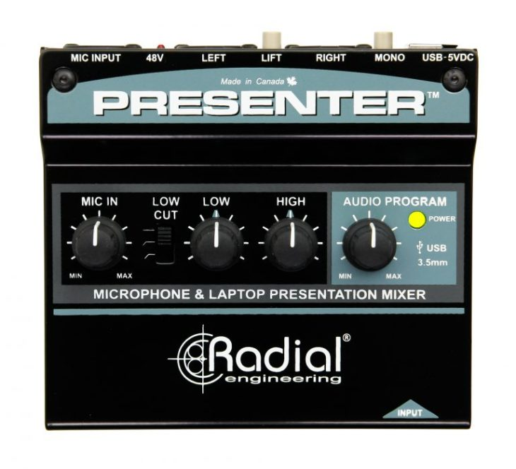 Radial Engineering Presenter 1