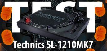 Test: Technics SL-1210MK7, DJ-Plattenspieler