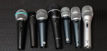 Test: Sieben preiswerte the t.bone Mikrofone im Vergleich