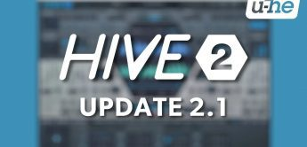 U-HE Hive Update 2.1, Software-Synthesizer