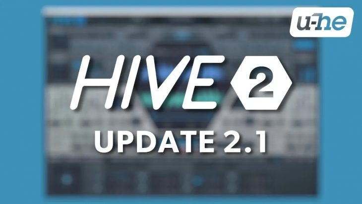 u-he hive 2.1 update synthesizer