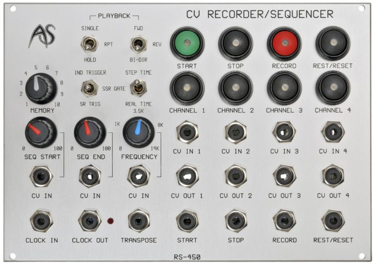 analogue systems rs450