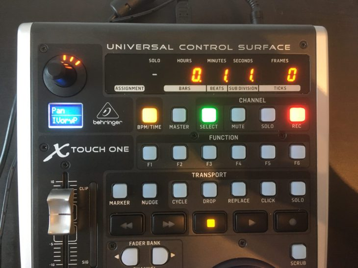 behringer xtouch one