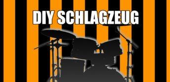 DIY Schlagzeug aus Eimern