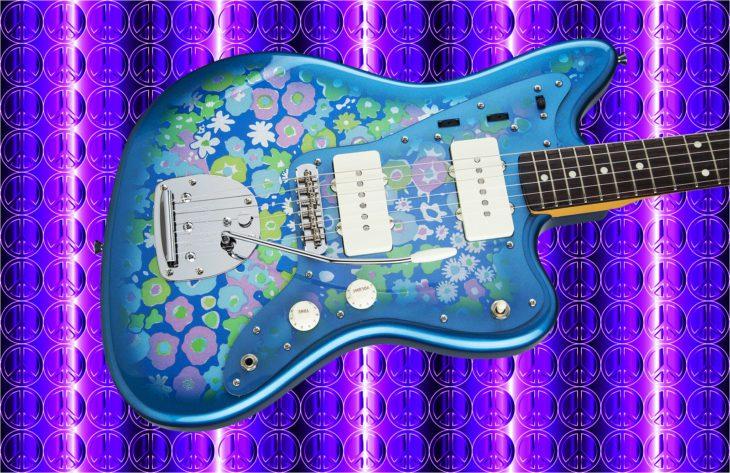 Fender Tradnl 60S Jazzmaster BL-FLWR