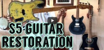 Günstige Restauration alter Gitarren