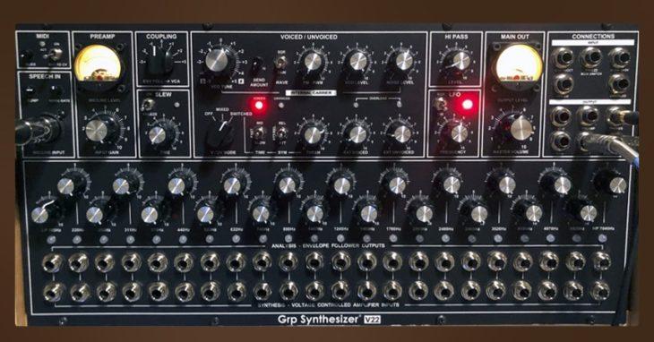 GRP V22 – Analog-Vocoder mit 22 Bändern
