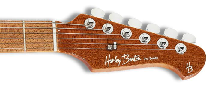 Harley Benton Fusion-II HSH headstock